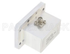 WR-159 CMR-159 Flange to SMA Female Waveguide to Coax Adapter Operating from 4.9 GHz to 7.05 GHz -- PE9831 - Image