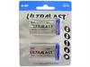 9V Ultralast Heavy Duty Batteries, Carded 2 Pack -- 603854 - Image