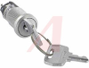 Switch,Keylock,Miniature,Low Security,On-None-On,1 Positon Key Removable -- 70192070