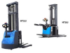 Full Electric Straddle Stacker -- HT12J -- View Larger Image