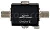 F-Female to F-Female 0-3 GHz 90V Lightning Protector -- AL-FFFF-9