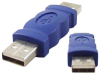 A Male to A Male USB Gender Changer -- 85-660 - Image