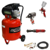 Speedway 15-Gallon Vertical Air Compressor Kit -- Model 8502