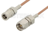 SMA Male to SMB Plug Cable 60 Inch Length Using RG178 Coax -- PE3548-60 -Image