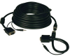 High Resolution SVGA/VGA Monitor Easy Pull Cable with Audio and RGB coax (HD15 M/M) 100-ft. -- P504-100-EZ - Image