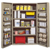 """Heavy-Duty All-Welded Storage Cabinets - 48"""" Wide - QSC-BG-4IS-14DS - Image"""