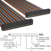 Rectangular Cable Assemblies -- A3AAB-5018M-ND -Image