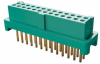 13+13 Pos. Female DIL Vertical Throughboard Conn. for Latches (T+R) -- G125-FV12605L0R -- View Larger Image