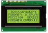 LCD DISPLAY, 16X4, 3V, REFLECTIVE -- 14T3221