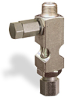 "(Formerly B1631-6X-TP), Straight Small Sight Feed Valve, 1/8"" Male NPT Inlet, 1/4"" OD Tube Outlet, Tamperproof -- B1628-425B1TW -- View Larger Image"