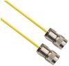 TRS Plug 3-Slot Male to TRS Plug 3-Slot Male 75 Ohm 0.189