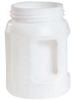 Fluid Storage Container,Drum,HDPE,2 L -- 3REL2