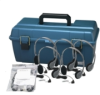 Lab Pack, 12 HA2V Personal Headphones in a Carry Case -- LCP/12/HA2V