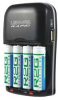 4 Hour AA/AAA Battery Charger with USB -- 12Z749
