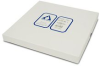 Silica Gel coated on AL Foil Sheets 200um 20x20cm (25 sheets) -- 156017