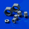 PVC Hex Cap Unslotted Screws, Nuts And Washers -- 91179 -- View Larger Image