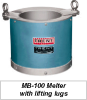 Lead and Babbitt Melting Pot -- MB-2000