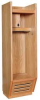 All Wood Open-Front Locker,W30xD24xH84 -- 6HAZ9