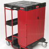 Ladder Cart with One Cabinet -- 9762