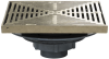 15 in. x 15 in. Shallow Body Promenade Drain -- FD-470-F-1 -- View Larger Image