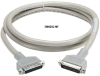 15-ft RS232 Shielded Cable Metal Hood DB25 M/F 25-Conductor -- EMN25C-0015-MF - Image