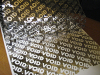 Silver Void Polyester Film Coated Tape -- View Larger Image