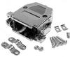 DB9 / DB15HD Metalized Plastic Hood -- 85-411