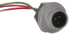 MICRO-CHANGE CORD, 5POS M12 PLUG, PIN CONTACTS -- 14B2876