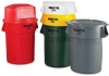 RUBBERMAID BRUTE Round Containers -- 4507127