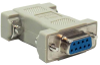 DB9 F/F Null Modem Adapter -- 30D1-C3