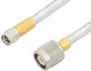 SMA Male to TNC Male Cable 36 Inch Length Using PE-SR401FL Coax -- PE34422-36 -Image