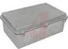 Enclosure; NEMA 4X; Aluminum; EMI/RFI Shielding; Natural;10.79L x 6.81W x 3.94D -- 70147794