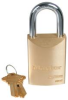 "MASTER LOCK DOOR HARDWARE PADLOCK 1-3/4"" BODY KW1 -- IBI714920"