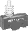 YE Series Standard Basic Switch, Single Pole Normally Open Circuitry, 25 A at 250 Vac, High Overtravel Plunger Actuator, Screw Termination, Silver Cadmium Oxide, Contacts, UL, CSA -- YE-2RQ27-A4