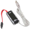 Serial ATA to USB 2.0 Cable Converter Adapter with Power Supply -- SATA-C35U - Image