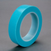 Scotch® High Temperature Fine Line Tape 4737T Translucent Blue, 48 in x 1300 yd, 1 per case Bulk -- 70006414711