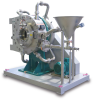 Spiral Jet Mills with Integrated Classifier, Dry Grinding -- ConJet