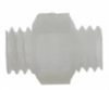Pipe fittings, Nipples UNF, Nylon, 10-32 UNF, 3/8
