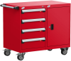 Mobile Compact Cabinet with Partitions -- L3BED-2823L3B -Image