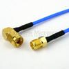 RA SMA Male to SMA Female Cable FM-F086 Coax in 60 Inch -- FMC0413085-60 -Image