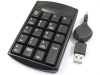 USB Mini Numeric Keypad w/ Retractable Cable -- 603798