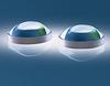 Plastic Aspheric Lens, 25mm Diameter x 50mm FL, Uncoated -- NT66-011