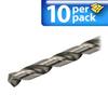 Jobber Drill Bit: heavy duty HSS, 6.8mm diameter, 10/pk -- 214068