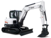 Conventional Tail Swing Compact Excavator -- E63 - Image