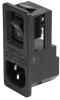 Power Entry Connectors - Inlets, Outlets, Modules -- 486-4358-ND -Image