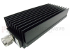 30 dB Fixed Attenuator N Male to N Female Directional Up to 8.5 GHz Rated to 250 Watts with Black Aluminum Heatsink Body -- SA8N250-30 -Image