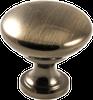 Classic Knob, Antique Brass -- 814534