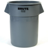 Rubbermaid BRUTE® 55-Gallon Container without Lid - 2655 (Gray) -- RM-2655GRA