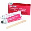 3M 08101 Base & Accelerator (B/A) White Urethane Adhesive - Liquid 2 fl oz Kit 08101 -- 051135-08101 - Image