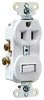 Combination Switch/Receptacle -- 691-W -- View Larger Image